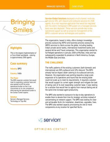 CASE STUDY: Call Center Solution for 200 Seats Across