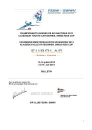 championnats suisses de ski nautique 2013 classique toutes ...