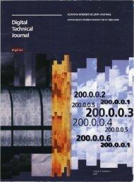 Digital Technical Journal, Volume 9, Number 2: AltaVista ... - 1000 BiT