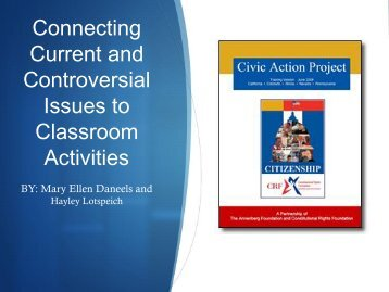 About The Civic Action Project - McCormick Foundation
