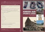honderd jaar sprangse school - Prins Willem-Alexanderschool