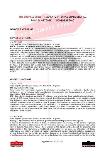 1 novembre 2010 - Festival Internazionale del Film di Roma
