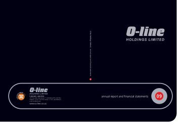 to download the O-Line Annual Report 2009