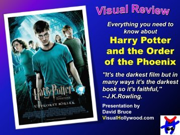 Harry Potter and the Order of the Phoenix - Visual Hollywood