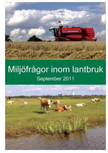 Miljöfrågor inom lantbruk (pdf-fil 593 kB) - Kristianstad