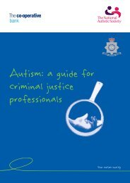 Autism Guide for Criminal Justice Professionals