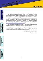 Boletin 32 Centro de Documentación e Información PNSD
