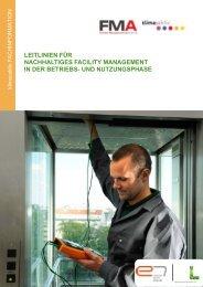 leitlinien für nachhaltiges facility management in der ... - Klima Aktiv