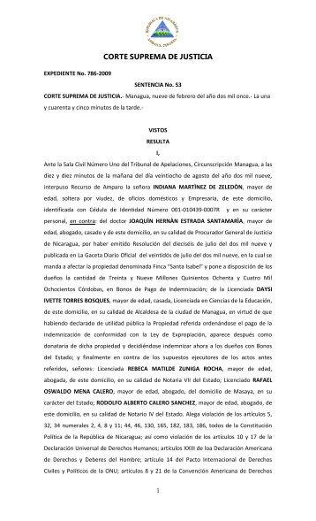 SENTENCIA No 53 - Poder Judicial