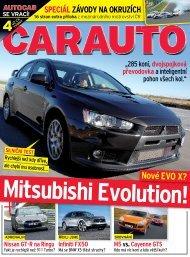 Nové EVO X? Mitsubishi Evolution - M Motors CZ, s.r.o.
