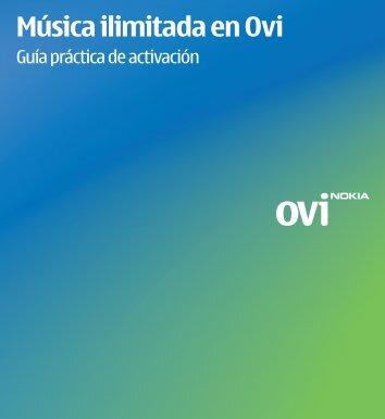 Música ilimitada en Ovi - Empresas