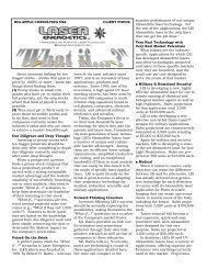 Big Apple Consulting USA Article on Laser Energetics