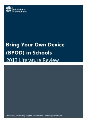 BYOD_2013_Literature_Review