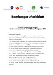 Bamberger Merkblatt - dgaki
