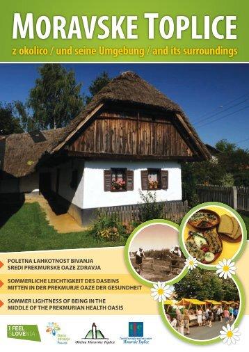 moravske toplice z okolico / und seine umgebung / and its ...