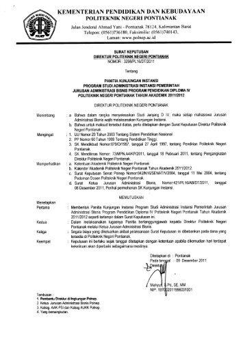 AIP - Politeknik Negeri Pontianak