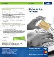 Private Kreditkarten (pdf) - Kreditkarte.at