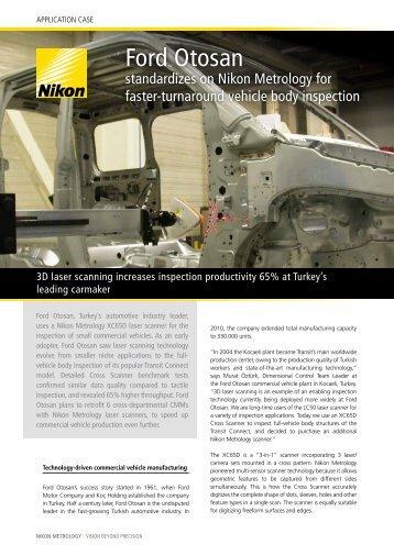 Ford Otosan standardizes on Nikon Metrology for faster-turnaround ...