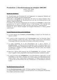 Protokoll der 1. Elternbeiratssitzung - Kastulus Realschule Moosburg