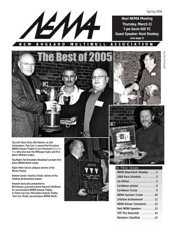 Spring 2006 - New England Multihull Association