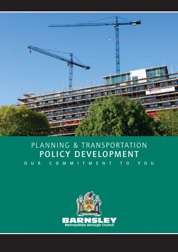 POLICY DEVELOPMENT - Barnsley Council Online