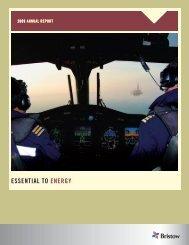 2009 Annual Report - Bristow