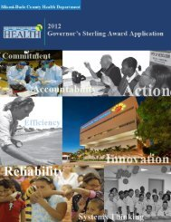Miami-Dade County Health Department / 2012 Governor's Sterling ...