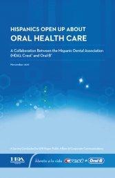 Hispanics open up about oral health care - DentalCare.com