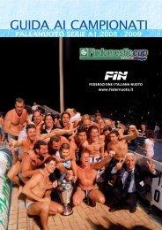 Vai alla giuida completa - Federazione Italiana Nuoto