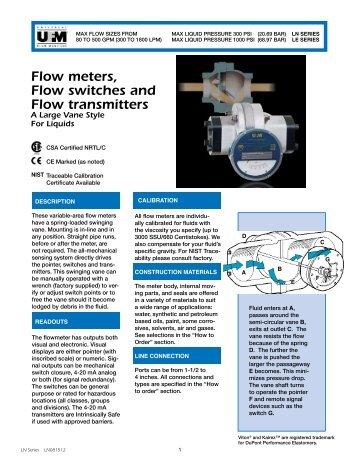 UNIVERSAL® Flow Meters