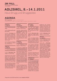 Agenda Adliswil - Im Fall