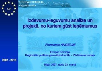 prezentācija - ES fondi
