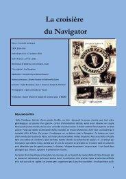 La croisière du Navigator - Académie de Rouen