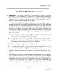 Chapter 3 - HUD Multifamily Housing Programs - Hud-Oig