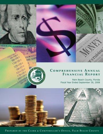 Comprehensive Annual Financial Report - Clerk & Comptroller ...