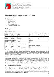 konzept sport endurance svps 2008 - bei swissendurance.ch!
