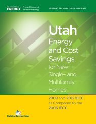 Utah - Building Energy Codes