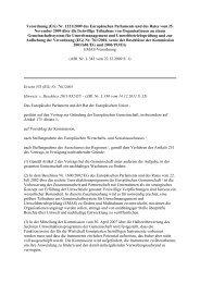 Verordnung (EG) Nr. 1221/2009 des Europäischen Parlaments und ...