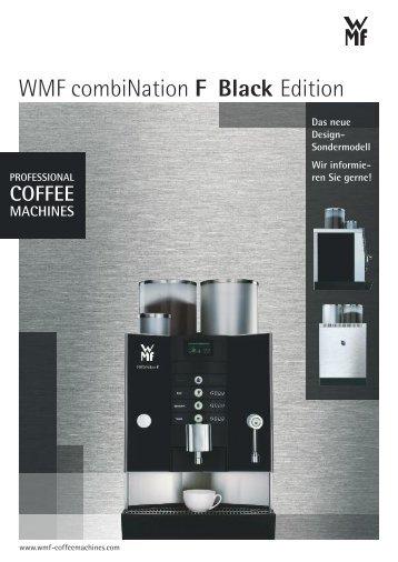 WMF combiNation F Black Edition - WMF Kaffeemaschinen