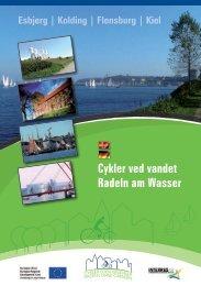 Cykler ved vandet Radeln am Wasser - DynamicPaper