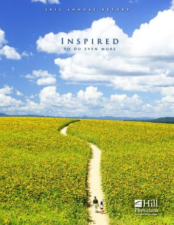 Inspired - Hill Physicians Medical Group, Inc.