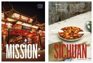 Bon Appetit – May 2012 – Mission Sichuan - Andrew Rowat