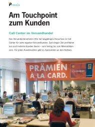 Am Touchpoint zum Kunden - Callcenter-Profi