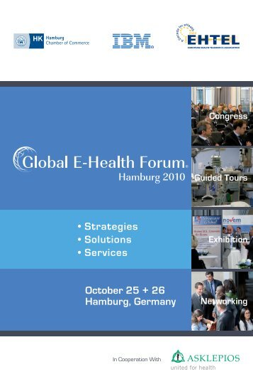October 25 + 26 Hamburg, Germany • Strategies • Solutions • Services