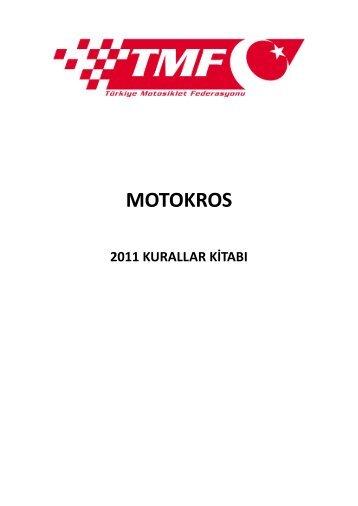 MOTOKROS - Türkiye Motosiklet Federasyonu