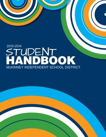 Student Handbook - McKinney Independent School District