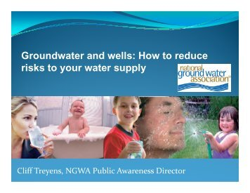 Groundwater Awareness