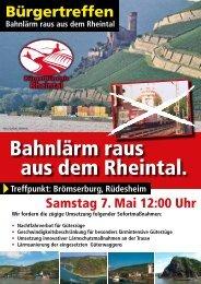 Bahnlärm raus aus dem Rheintal. - SPD Oestrich-Winkel