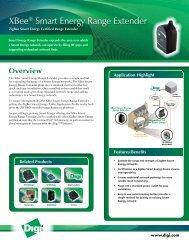 XBee Smart Energy Range Extender - Datasheet