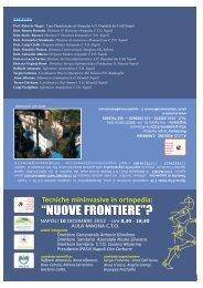 Brochure dell'evento - Ospedali dei Colli